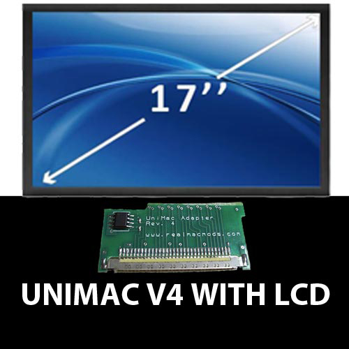 UniMac with LCD